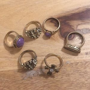 Forever 21 Statement Rings